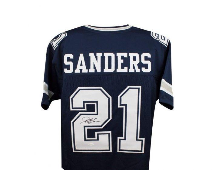 pretty nice 26fef 77498 Deion Sanders Autographed Dallas Cowboys Jersey – Alumni ...